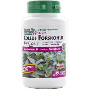 Форсколин, Nature's Plus, 60 капсул