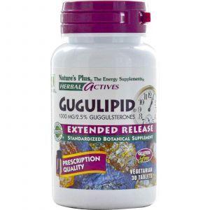 Гуггул, Nature's Plus, 1000 мг, 30 табл