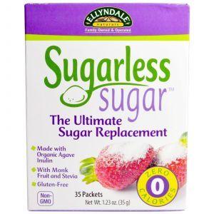 Сахарозаменитель, (Sugarless Sugar), Now Foods, 35 г