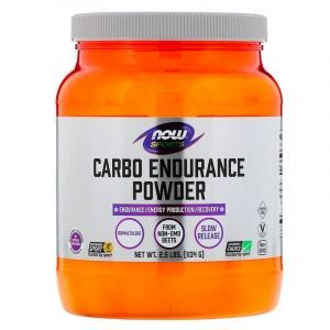 Изомальтулоза, (Carbo Endurance Powder, Isomaltulose), Now Foods, 1134 г