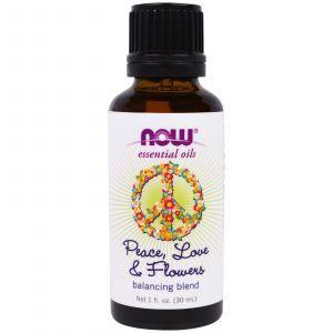 Эфирные масла, смесь, (Essential Oils, Balancing Blend), Now Foods, 30 мл