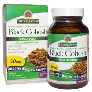 Клопогон, Nature's Answer, 50 мг, 90 капсул