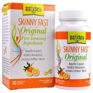 Быстрое похудение, Skinny Fast, Natural Balance, 90 кап.