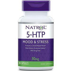 5-гидрокситриптофан, 5-HTP, Natrol, 50 мг, 45 капсул