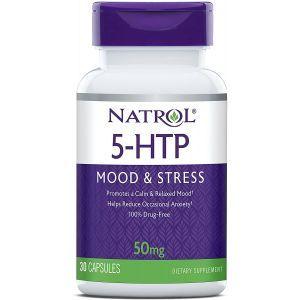 5-гидрокситриптофан, 5-HTP, Natrol, 50 мг, 30 капсул
