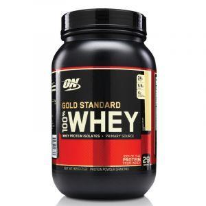 Сывороточный протеин, шоколадный солод, Gold Standard 100% Whey, Optimum Nutrition, 907 г