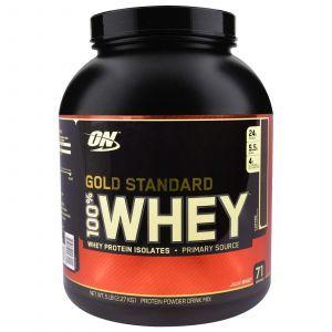 Сывороточный протеин вкус кофе, (Gold Standard Whey),Optimum Nutrition, 909г