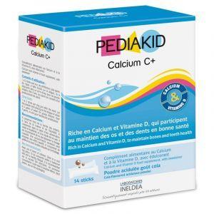 Кальций С+ для детей, Calcium C+, Pediakid, 14 шт.