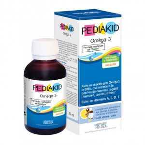 Oмега-3, сироп для детей, Omega 3, Pediakid, 125 мл