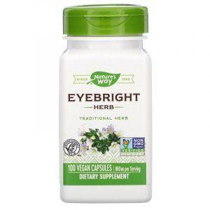 Очанка, Nature's Way, 430 мг, 100 капсул