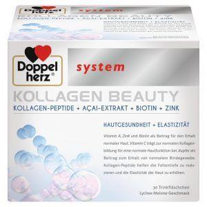 Коллаген Бьюти, Kollagen Beauty, Doppelherz System, 30 флаконов (по 25 мл)