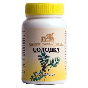 Солодка, Biola, 90 таблеток