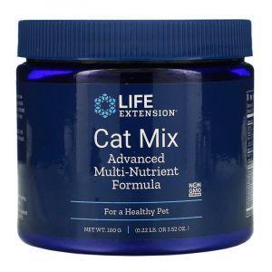 Мульти формула для котов, Cat Mix, Advanced Multi-Nutrient Formula, Life Extension, 100 г