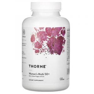 Мультивитамины для женщин 50+, Women's Multi, Thorne Research, 180 капсул