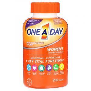 Мультивитаминно-минеральная добавка для женщин, Women's Formula, One-A-Day, 200 таблеток