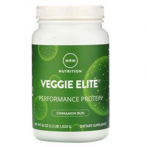 Вегетарианский протеин элит, Veggie Elite Protein, корица, MRM, 1.020 г