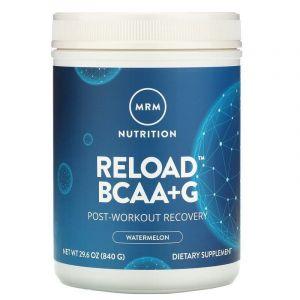 Формула восстановления, BCAA + G Reload, MRM, арбуз, 840 г