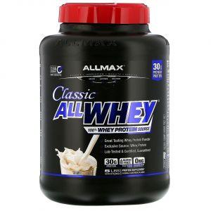 Смесь Чистого Сывороточного Протеина, Французская Ваниль, AllWhey Classic, ALLMAX Nutrition, 2.27 кг.