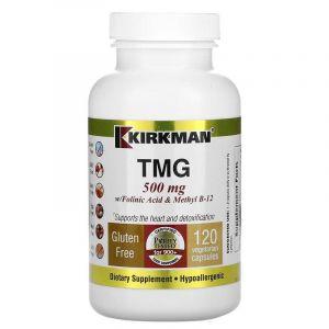 Фолиевая кислота и метил В12, Kirkman Labs, 500 мг, 120 кап.