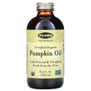 Тыквенное масло (Pumpkin Oil), Flora, 250 мл