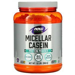 Мицеллярный казеин, Micellar Casein, Now Foods, Sports, 816 г (Default)