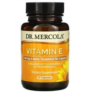 Витамин Е, Vitamin E, Dr. Mercola, 30 капсул (Default)