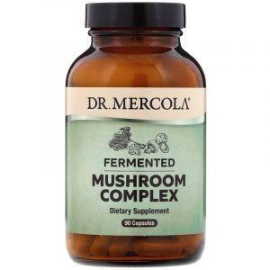 Комплекс грибов, Mushroom Complex, Dr. Mercola, ферментированный, 90 капсул (Default)