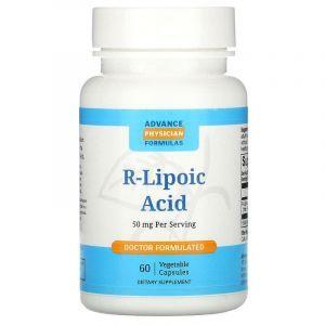 R липоевая кислота, Advance Physician Formulas, 50 мг, 60