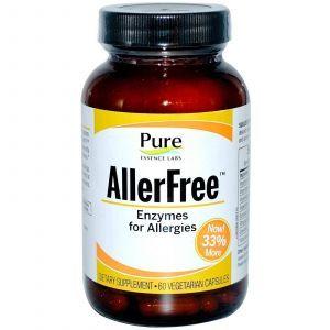 Комплекс от аллергии, Ферменты, Pure Essence, 60 ка