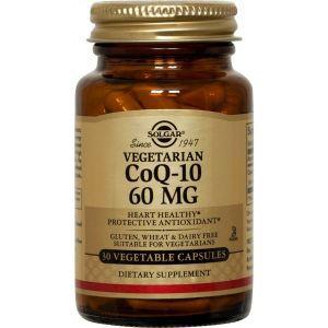 Коэнзим Q10, CoQ-10, Solgar, 60 мг, 30 капсул (Default)