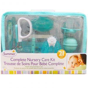 Полный комплект для детского ухода, Complete Nursery Care Kit, Summer Infant, 21 шт