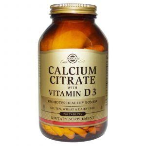 Цитрат кальция (Calcium Citrate), Solgar, 240 табле