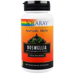 Босвелия, Boswellia, 450 мг, Solaray, 60 капсул