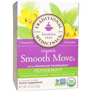 Слабительный чай, Traditional Medicinals, 16 пакетиков (32 г