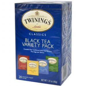Набор ароматного черного чая, Twinings, 20 пак.(40 г.)