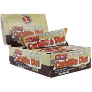 Диетические бары вкус печенья, (CarbRite Diet Bars), Universal Nutrition, 12 шт. по 56.7 г