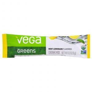 Drinkable Greens, вкус мяты, Vega, 16 пакетов по 5 г