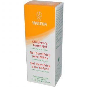 Зубной гель для детей, Weleda, 50 мл.