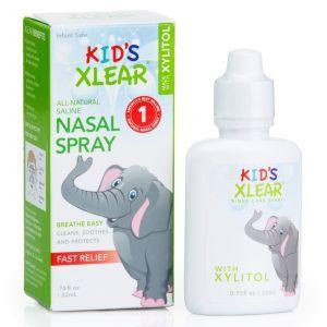Солевой назальный спрей для детей, Kid's Xlear, Xlear, 22 мл